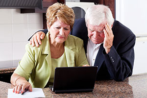 Senior financial troubles