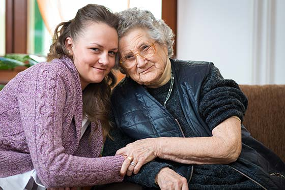 In home care for elderly, seniors, hospice care and disabled people. Trinity Home Care LLC.