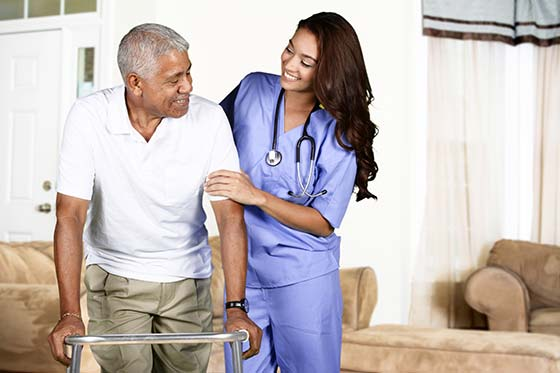 In home care for elderly, seniors, recovering patients and disabled people. Trinity Home Care LLC.